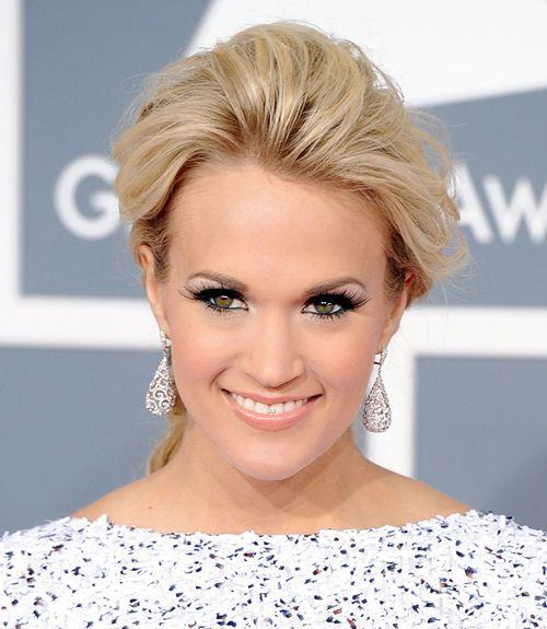 Carrie Underwood's Grammy look.