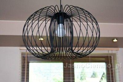 Duza Lampa Wiszaca Mersi Kula Czarna Lub Biala Home Appliances Floor Fan Home