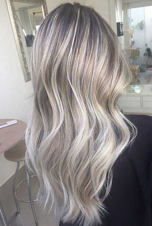 Image Result For Blonde Hair With Silver Grey Highlights Hair