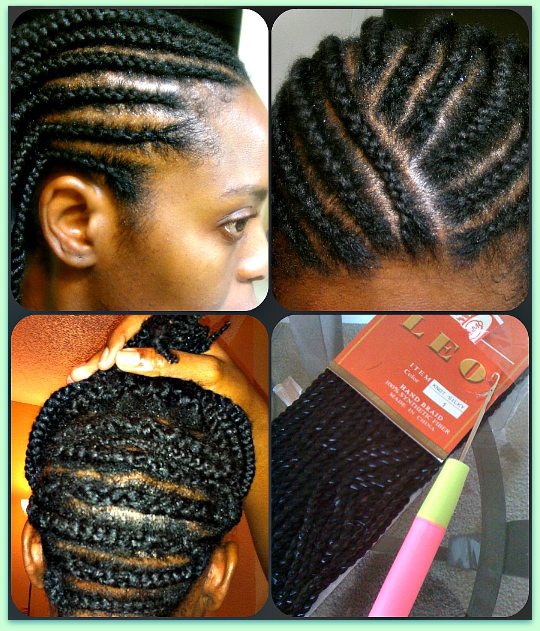 What kind of hair do you use for crochet braids - Braid Pattern For Crochet Twists