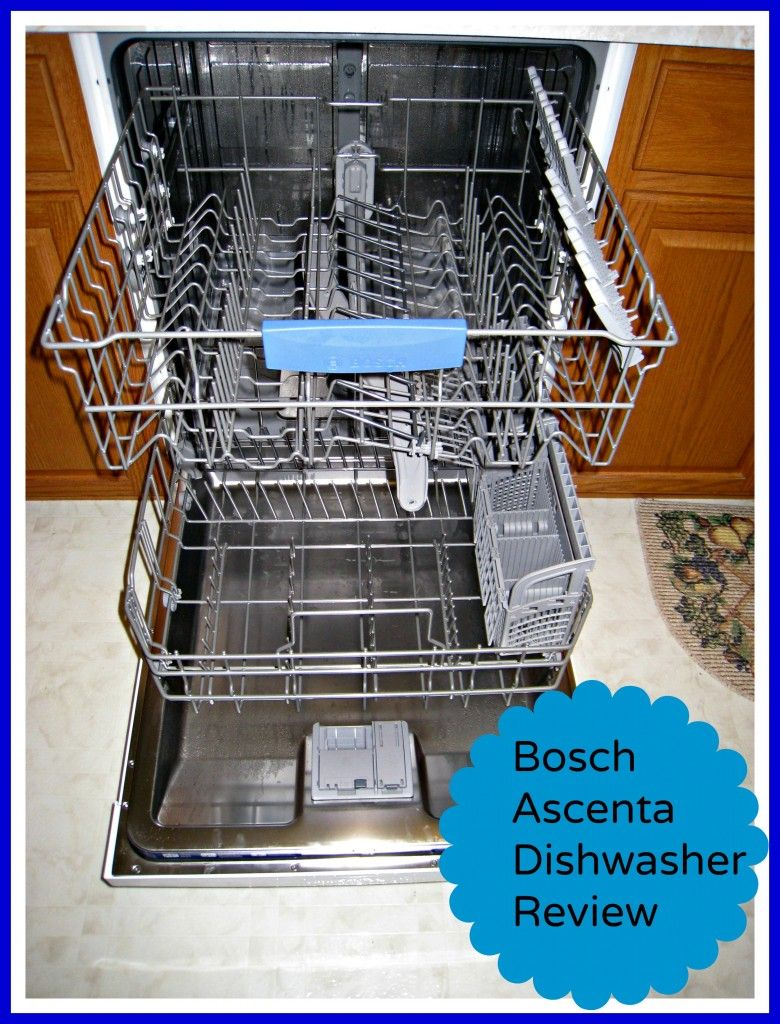Bosch Ascenta Dishwasher Review Dishwasher Reviews Dishwasher