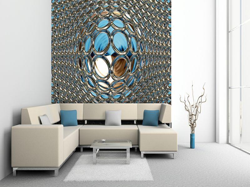 25 Ideen für moderne Tapeten für Ihre Wohnung Interiors - moderne tapeten fürs wohnzimmer