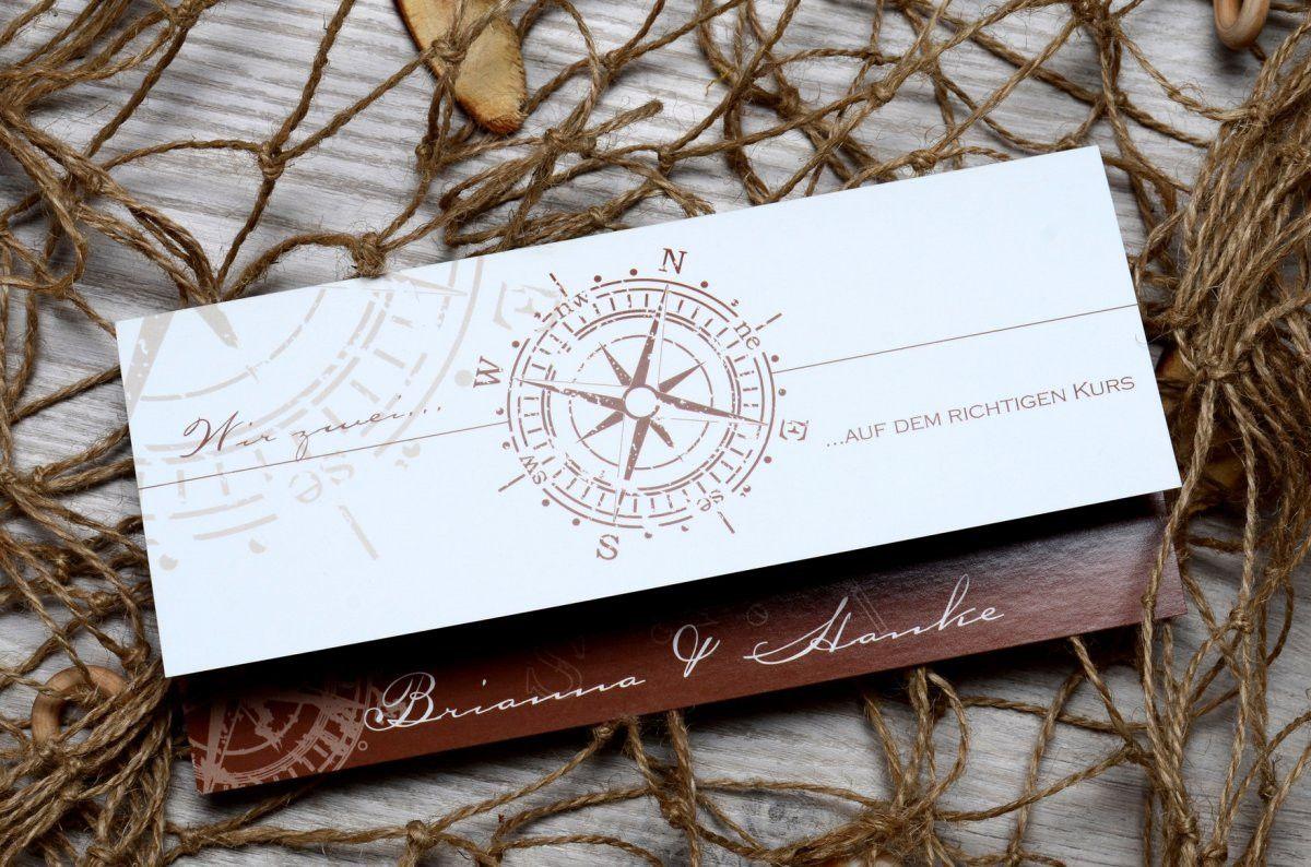 einladungskarten hochzeit maritim elegant einladungskarten