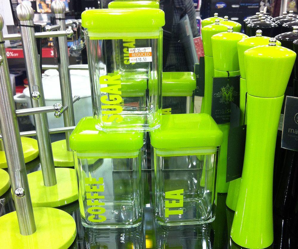 Green Kitchen Accessories