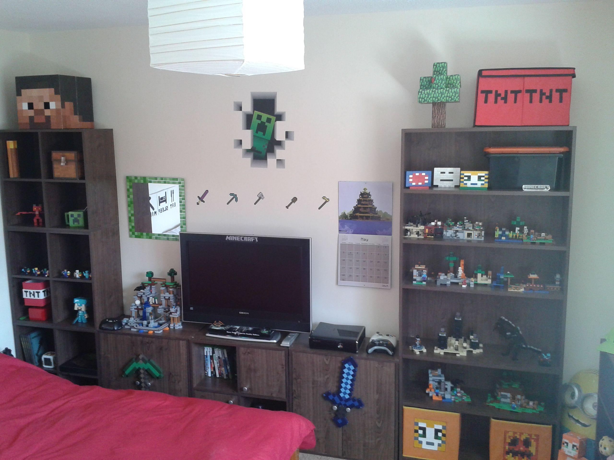 Minecraft Schlafzimmer ~ Besten minecraft bedroom bilder auf söhne und