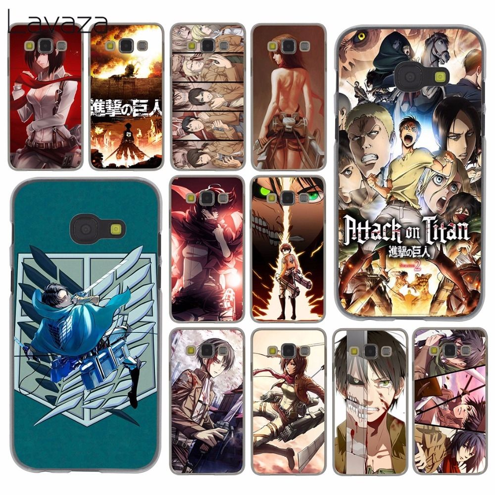 Lavaza attack on titan wings of freedom Anime Case for Samsung
