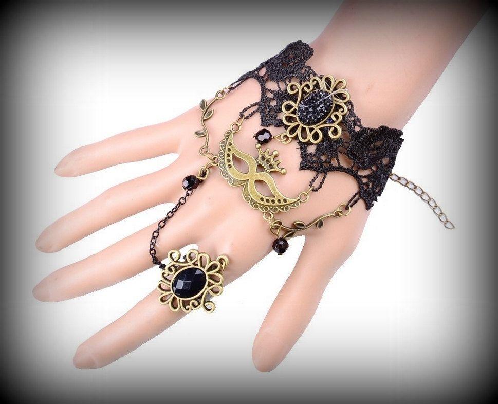 Vintage Victorian Lace Vamp Bracelet / Cuff by RepublicOfRave on Etsy