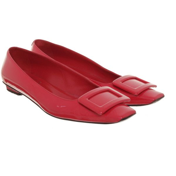Roger Vivier Pre-owned Red flats