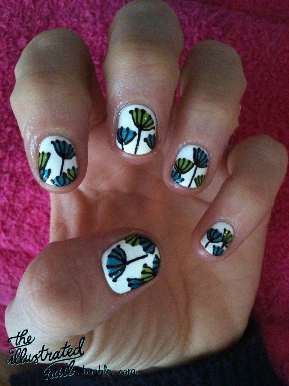 Simple flowers i uc nail art pinterest nail photos beauty