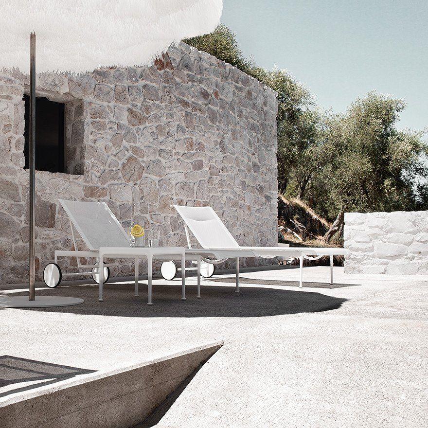 Richard Schultz 1966 Adjustable Chaise Lounge Modern Outdoor Furniture Richard Schultz Beach Lounge Chair