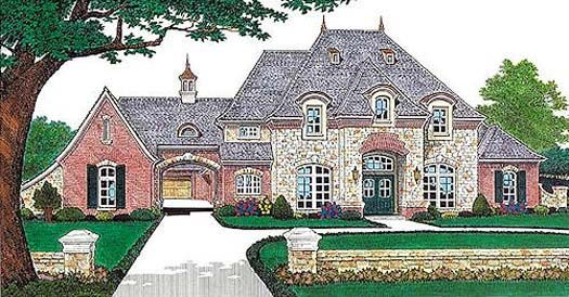 French style house designs