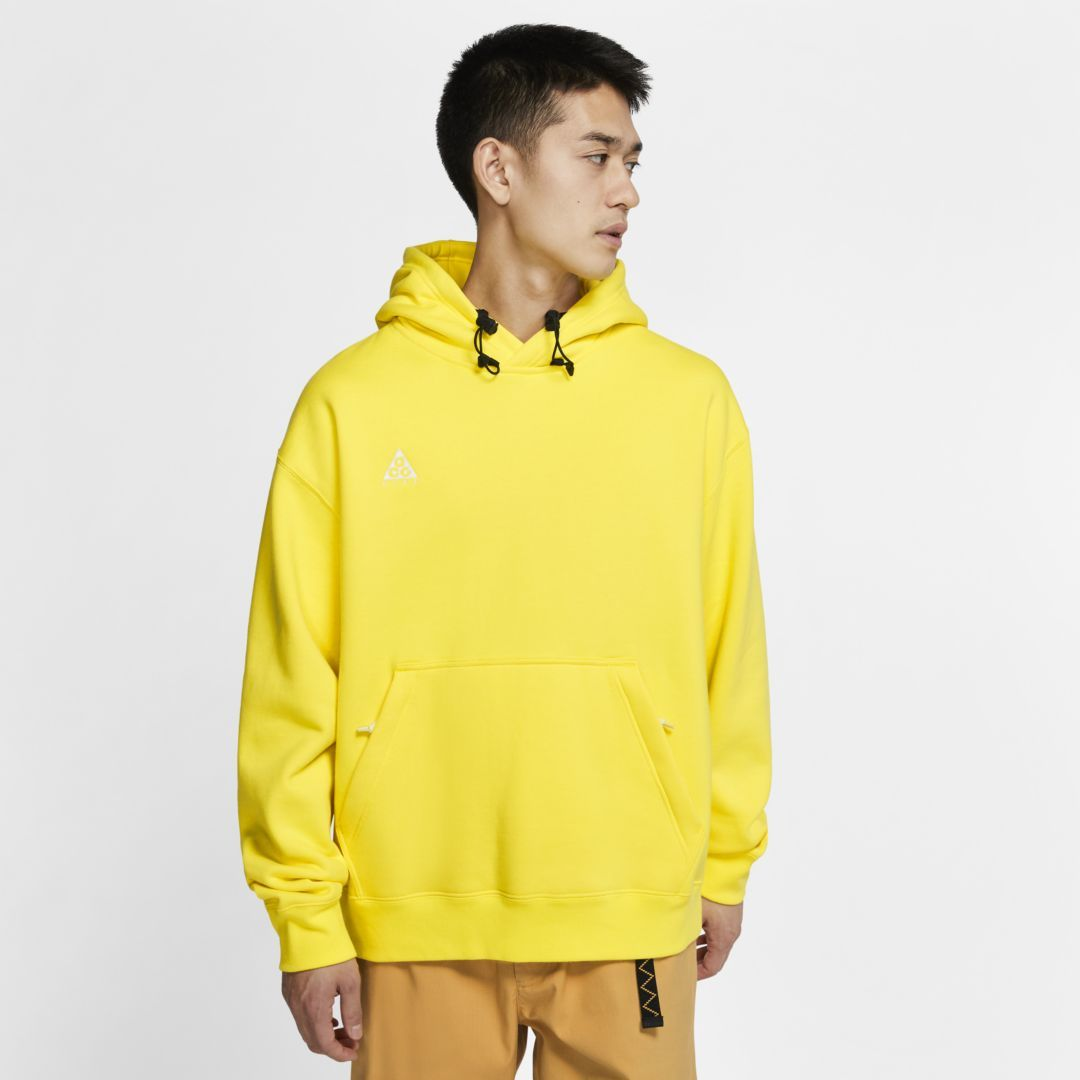 Nike ACG Pullover Hoodie (Opti Yellow) #nikeclothes