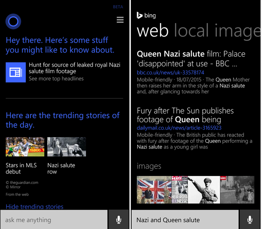 New Cortana Update Brings Google Now And Siri Features