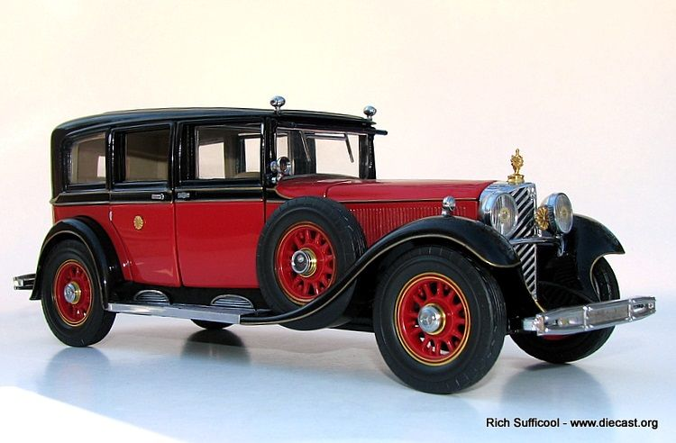 Franklin mint diecast cars franklin mint 1 24 1935 for Mercedes benz danbury