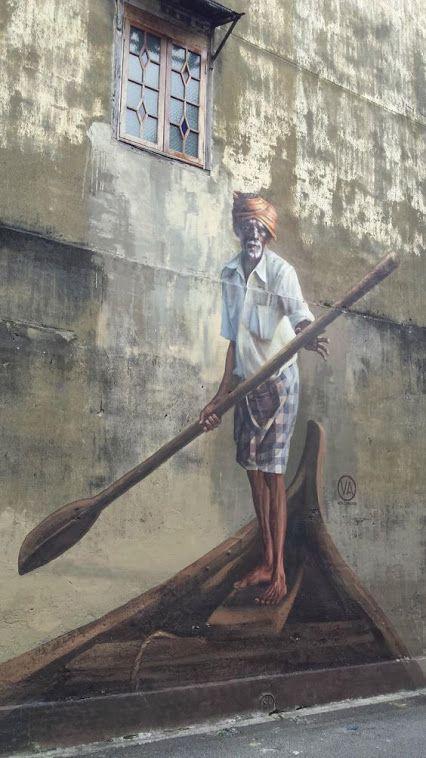 Penang, Malasia- Street art