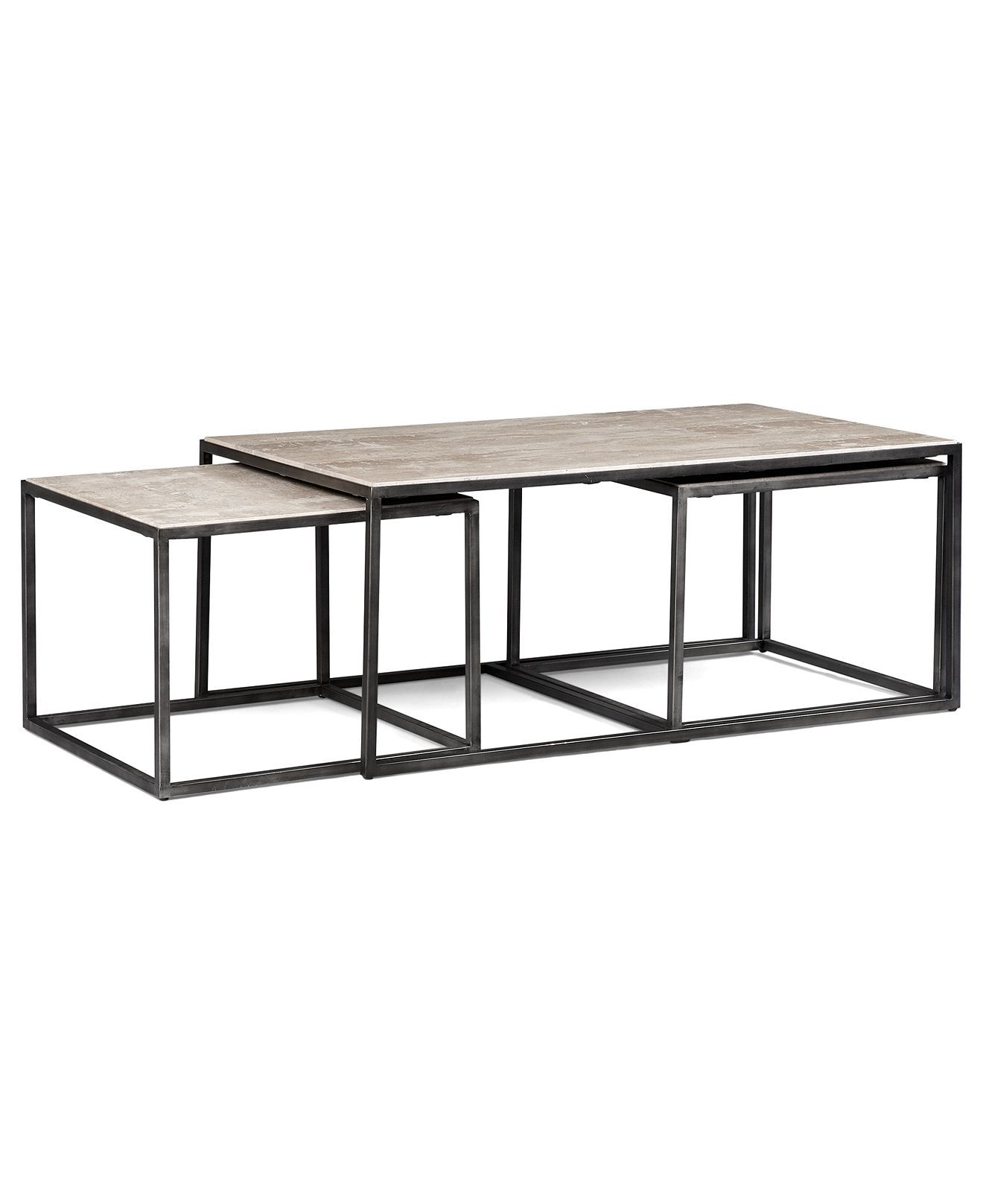 Monterey Coffee Table, Rectangular Nesting   Furniture   Macyu0027s