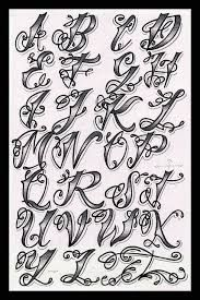 Image result for gangster tattoo fonts