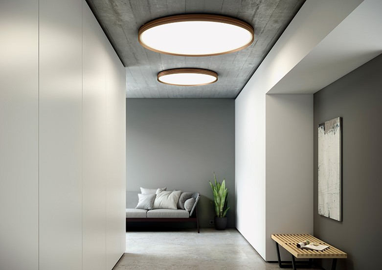 Blux Lite Hole C W In 2020 Wall Lamp Design Interior Spaces Circular Lighting