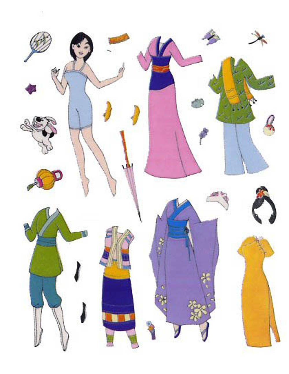 mulan essay pixels images about annahs paper dolls and more