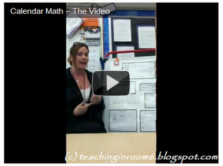 Calendar Math in the Upper Grades -- The Video