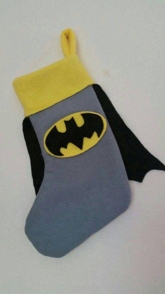 Handmade Christmas boys kids superhero batman by FlutterbyBazaar