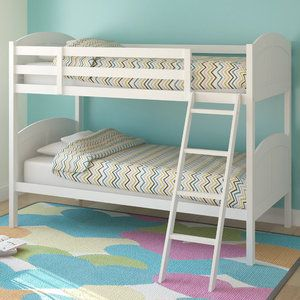Sonax Concordia Twin Bunk Bed With Removable Ladder Girls Room