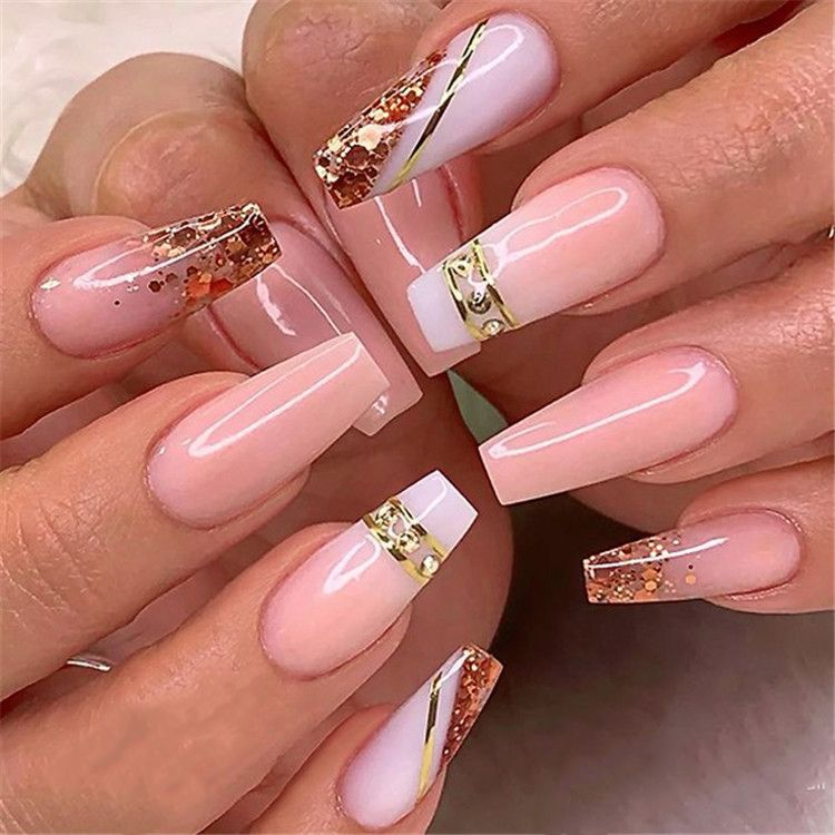 Ombre Acrylic Nails Acrylic Nail Ideas Pink Glitter Coffin Nails Long Coffin Nails Coffin Nails Acrylic Nails Pink Nails Ombre Acrylic Nails Trendy Nails