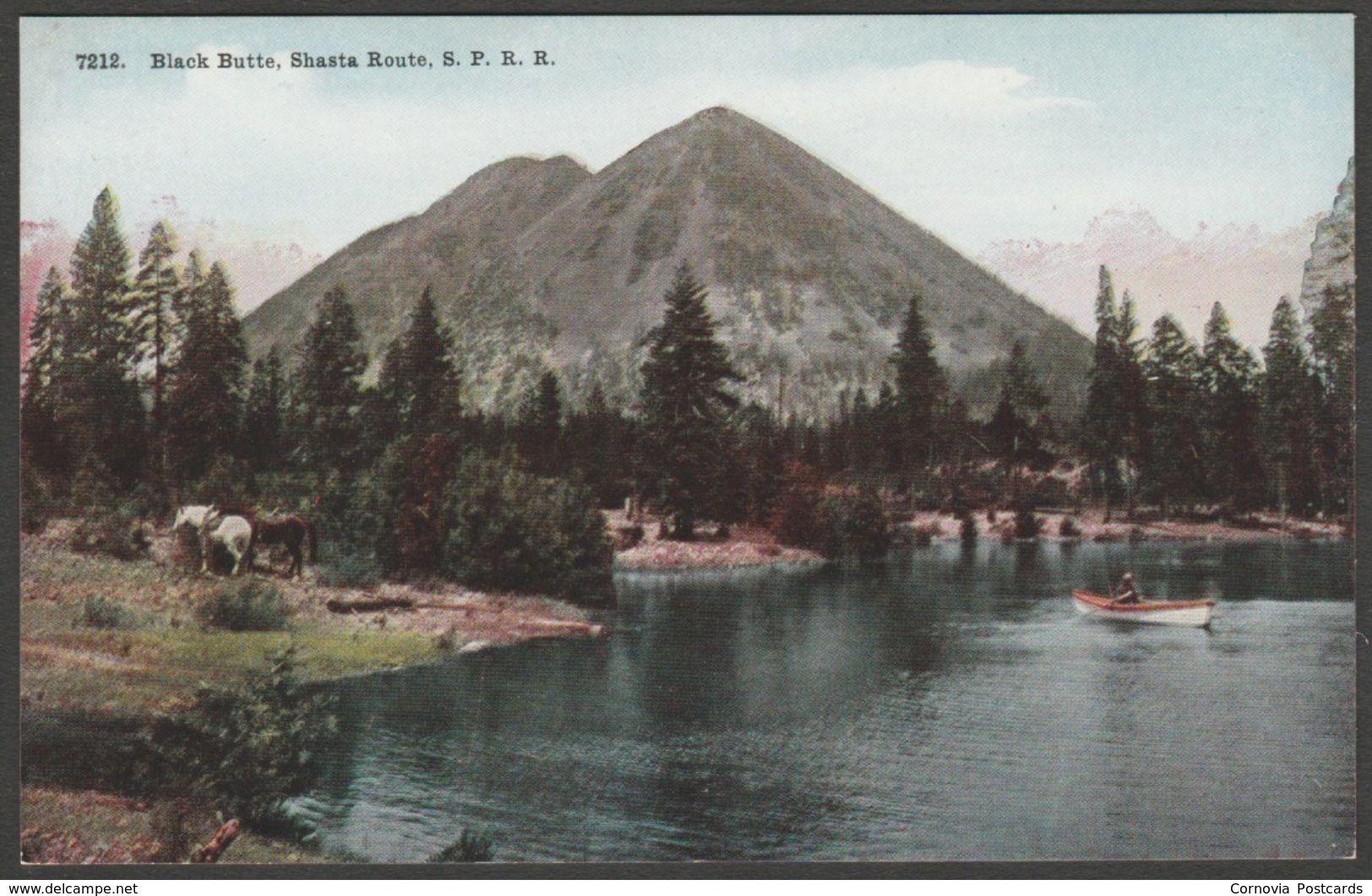 Black butte shasta route sprr california c1910 bn co