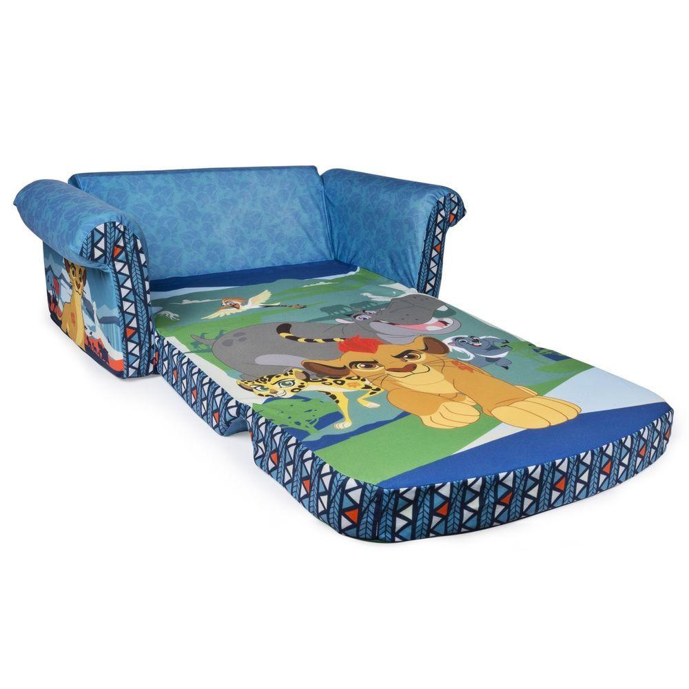 Lion King Lion Guard Disney Junior 2in1 Flip Sofa Couch