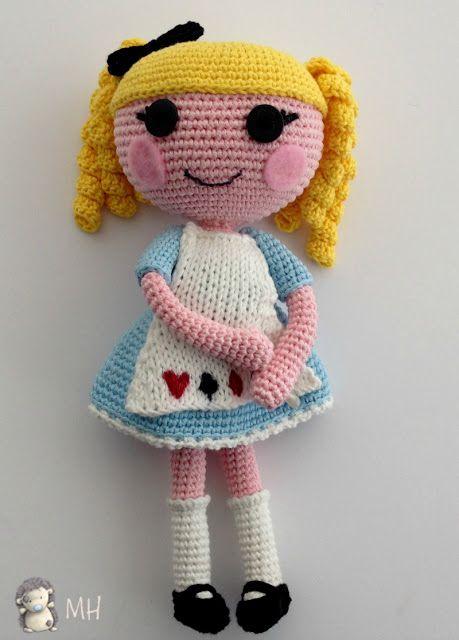 Muñeca-lalaloopsy-amigurumi.patron de esta preciosidad gratis.muchas ...