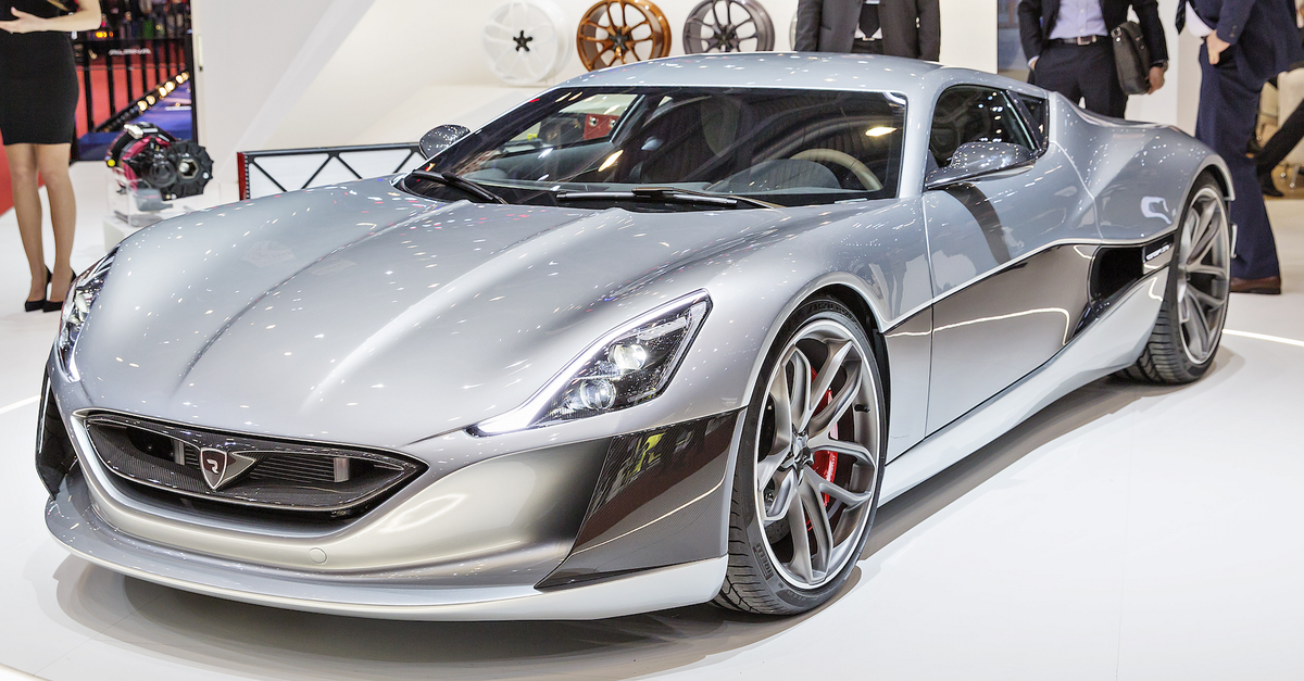 Behold The 1341bhp Electric Supercar Super Cars Concept Cars Car