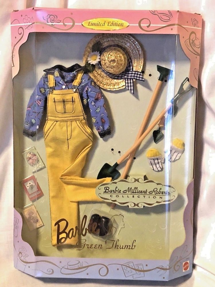 Barbie millicent roberts collection Green Thumb 1997 Limited Edition