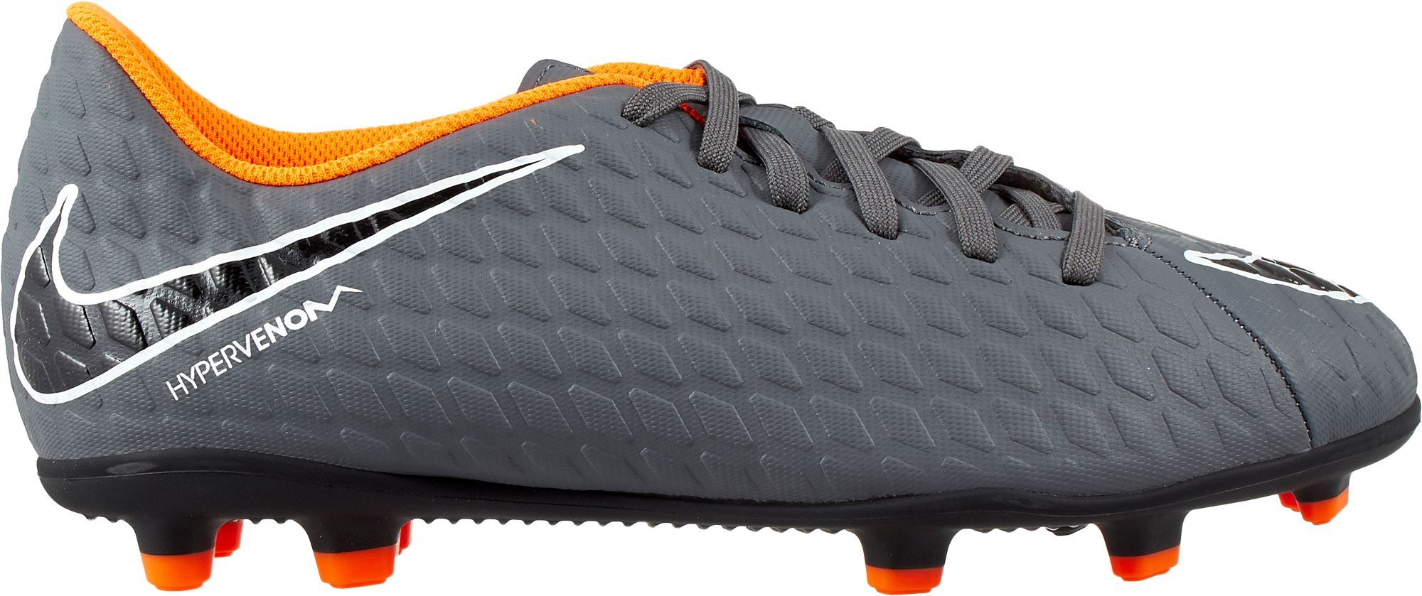 detailed pictures 976e2 e298a Nike Kids  Hypervenom Phantom 3 Club FG Soccer Cleats, Boy s, Size  2.0,  Gray