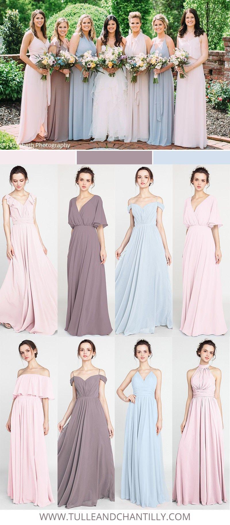 Mismatched Bridesmaid Dresses For 2018 Trends 2 Bridesmaiddress Bridalparty Weddingcolor Bridesmaid Dresses Mismatched Bridesmaid Dresses City Wedding Dress