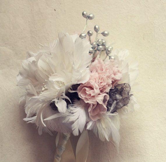 Feather Bouquet Tutorial