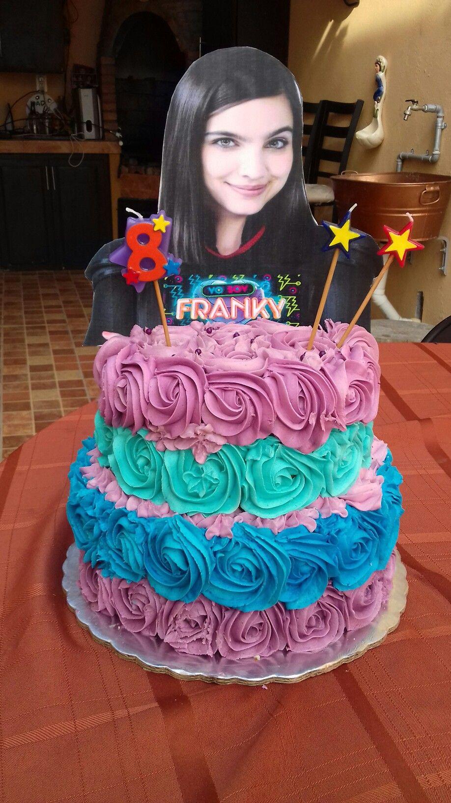 Yo soy Franky cake  Pastel cumpleaños