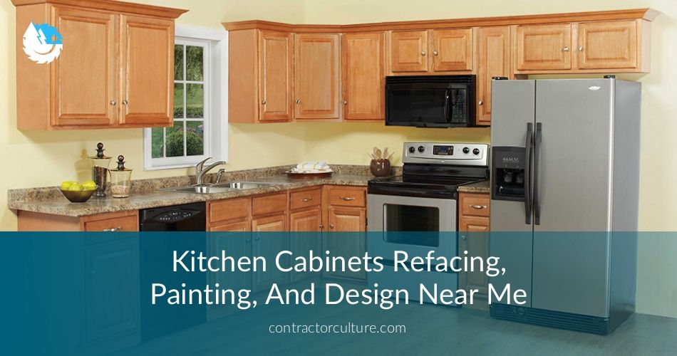 Kitchen Cabinets Painters Near Me