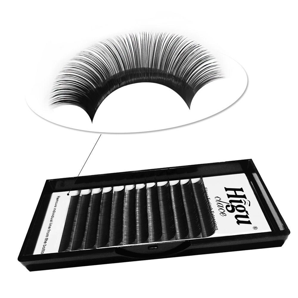 Wholesale Flat Lash Eyelash Extensions, Double Tips Split