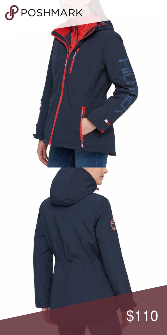 sold worldwide reputable site wholesale price Tommy Hilfiger Ladies' 3-in-1 Systems Jacket, Blue NWT Large ...