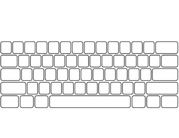 graphic regarding Printable Keyboard referred to as Computer system Keyboard and Keypad * blank Keyboarding