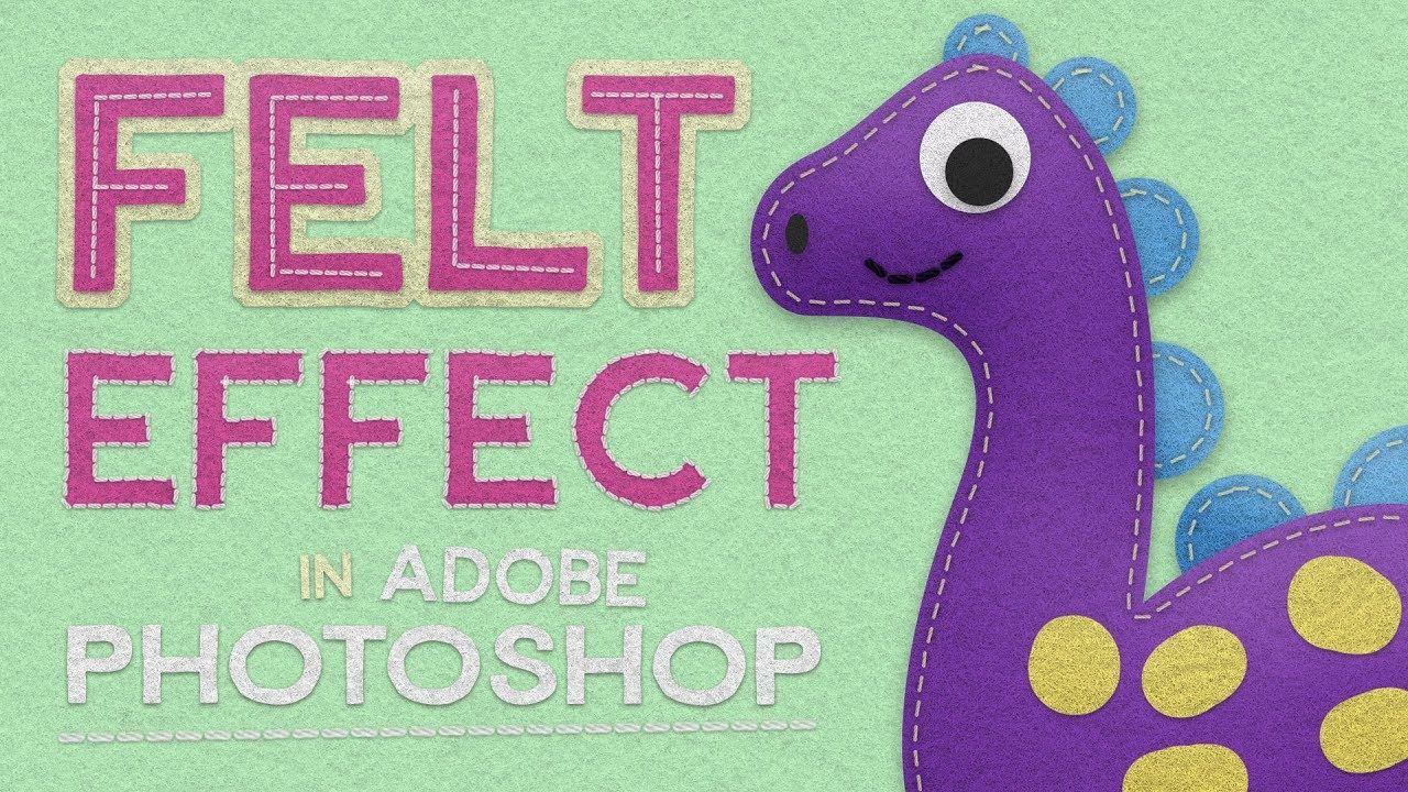 How to create a cute character with felt effects in adobe learn how to create a cute character with felt effects in adobe photoshop tutorials full hd graphic design hd photoshop tutorial video baditri Gallery