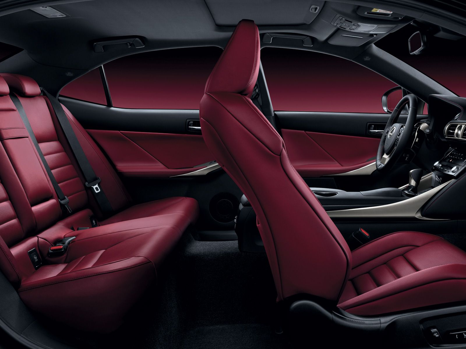 Dark Rose trim (Lexus F Sport models only) Overseas model