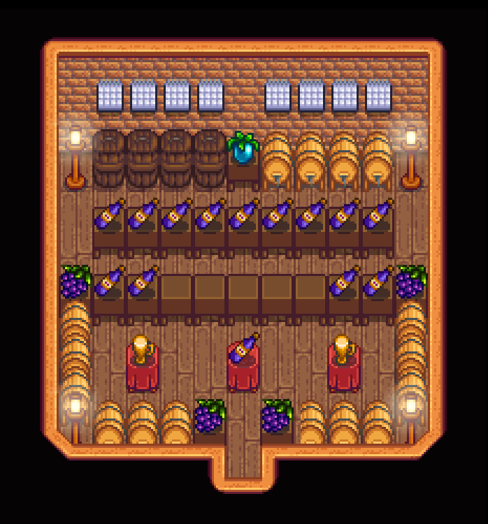 Winery And Stand Up Bar Stardew Valley