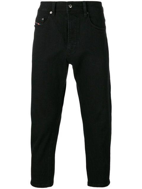 Diesel Cropped Jeans Modesens Black Skinny Jeans Men Black Jeans Men Cropped Jeans