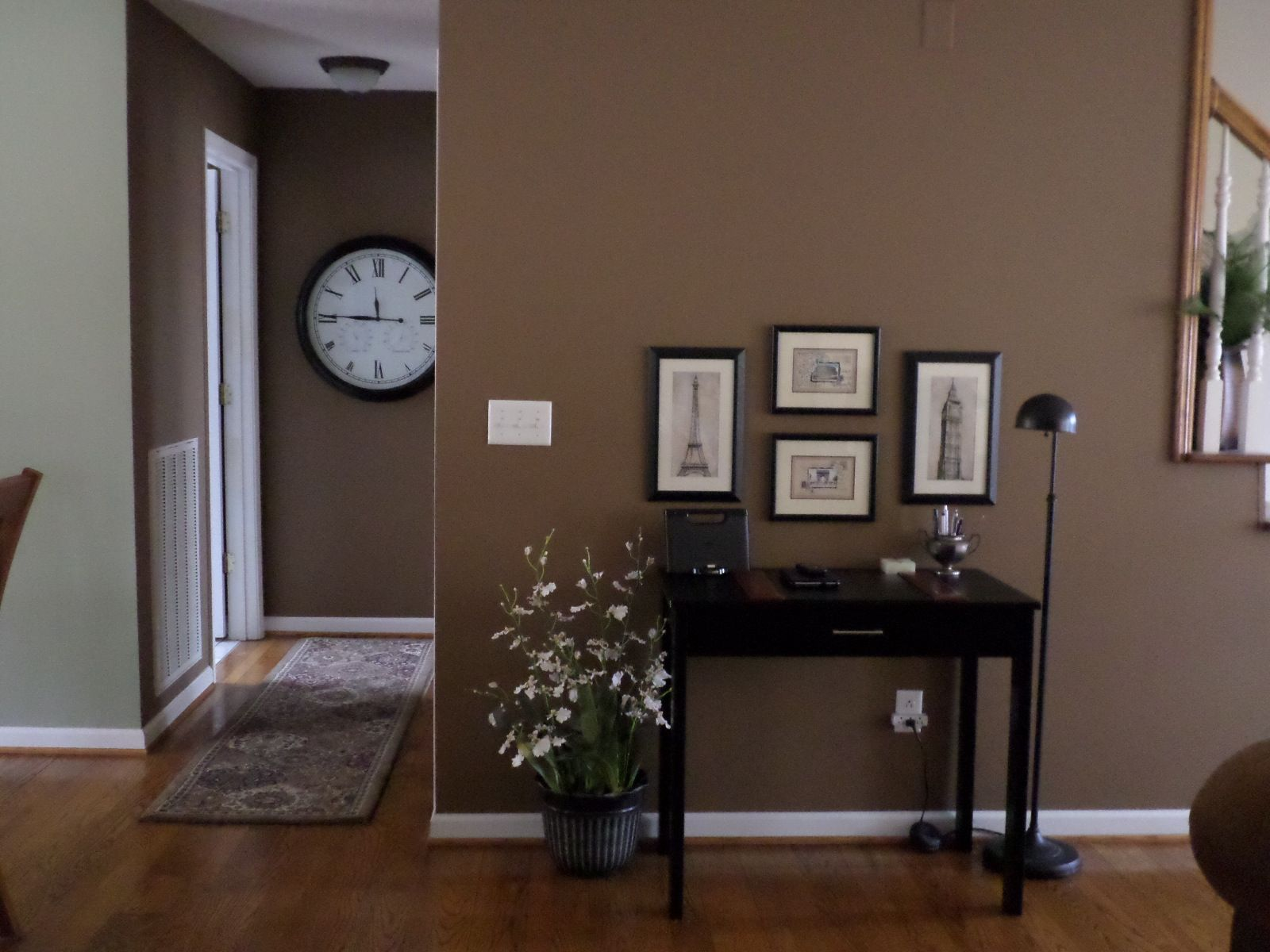 Perfect Transition Area With Behr