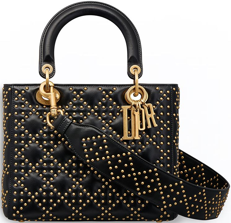 acaa28dd3e Supple Lady Dior Studded Tote Bag