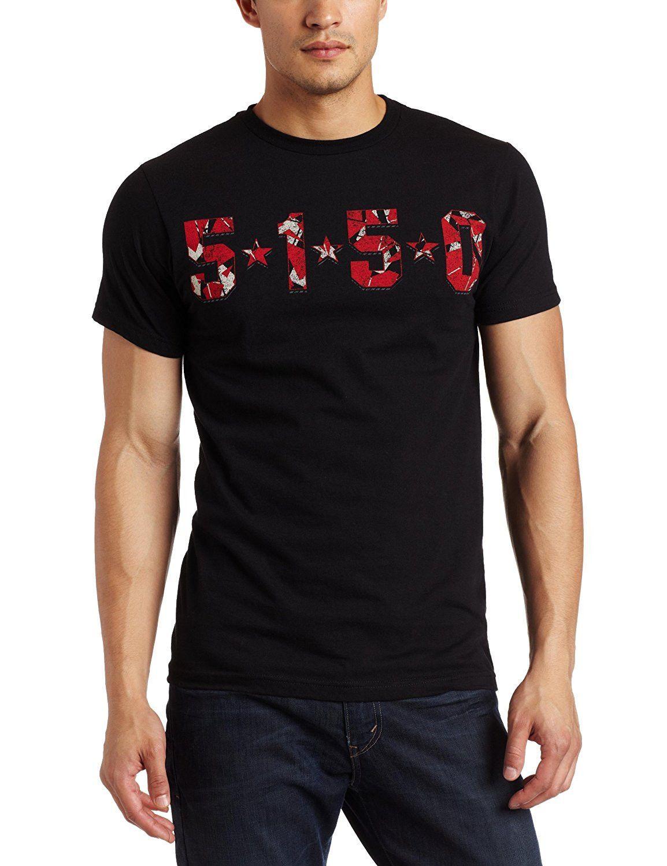 Van Halen 5150 Stripes Logo TShirt Van halen, Van