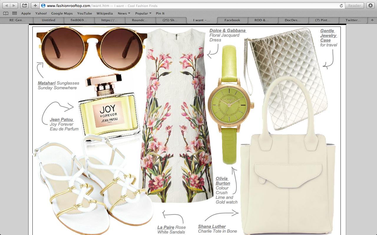 """I Want"" @fashion Rooftop picks"