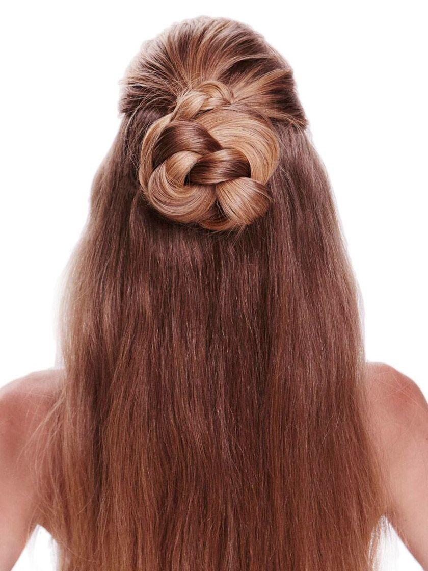 Frisuren Mit Invisibobble Anleitung Schone Frisuren Lange Haare Mittellange Haare Frisuren Einfach Haarband Frisur