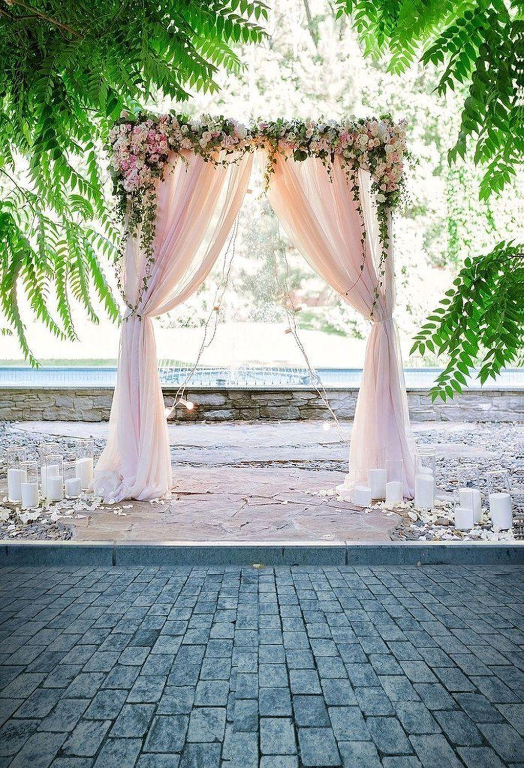 37 Unordinary Wedding Backdrop Decoration Ideas